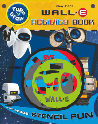 """Disney """"Wall*E"""" Turn and Draw Activity Book"""