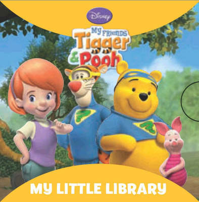 """Disney """"My Friends Tigger and Pooh"""": Little Library"""