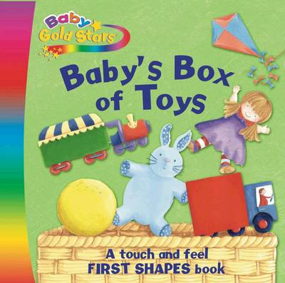 Baby Gold Stars Fabric Die-Cut Board: Baby's Box of Toys