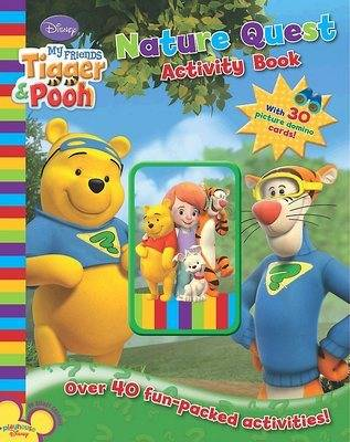 "Disney ""My Friends Tigger and Pooh"" Discover Nature with Cards"
