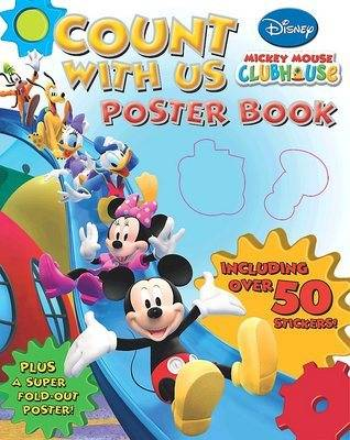 "Disney ""Mickey Mouse Clubhouse"" Counting Poster Book"