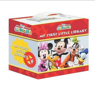 "Disney ""Mickey Mouse Clubhouse"" Little Library"