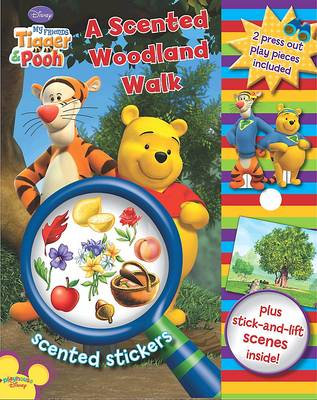 Disney Scented Sticker Storybook: My Friends Tigger and Pooh