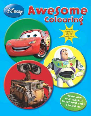 Disney Pixar: Awesome Colouring