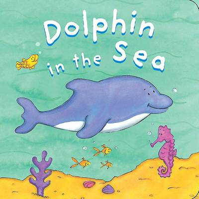 Bath Book: Dolphin in the Sea