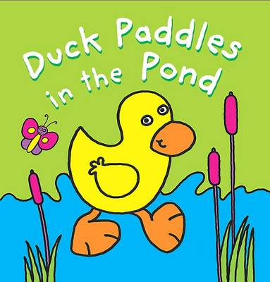 Bath Book: Duck Paddles in the Pond