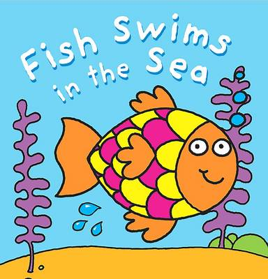 Bath Book: Fish Swims in the Sea