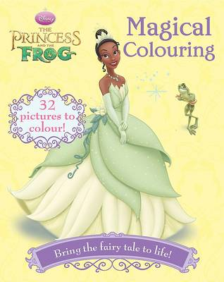 """Disney Colouring: """"Princess and the Frog"""""""