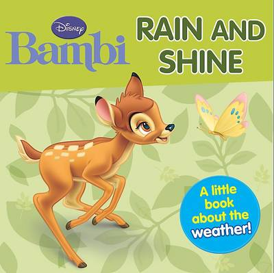 "Disney Mini Board Books - ""Bambi"": Rain and Shine"