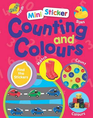Mini Sticker Counting and Colours