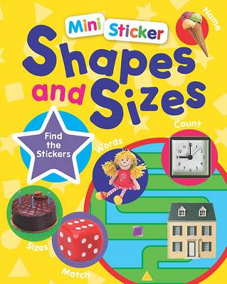 Mini Sticker Shapes and Sizes