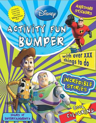 Disney Activity Fun Bumper: With Over 120 Things to Do