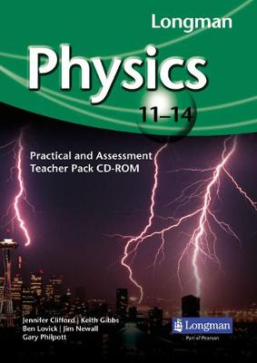 Longman Physics 11-14: Practical and Assessment Teacher Pack CD-ROM