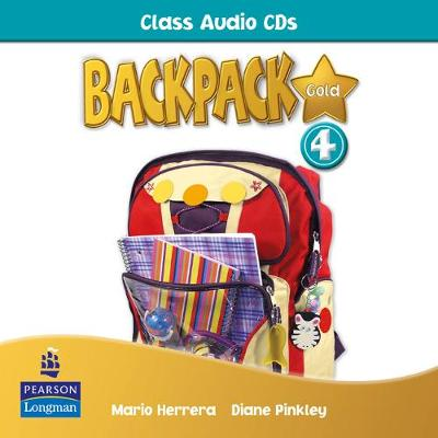 Backpack Gold 4 Class Audio CD New Edition