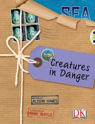 Bug Club Non-fiction Blue (KS2) A/4B Globe Challenge: Creatures in Danger 6-pack