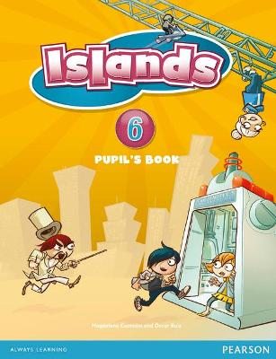 Islands Level 6 Pupil's Book plus pin code