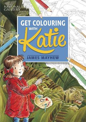 The national gallery get colouring with katie james Coloring book national bookstore