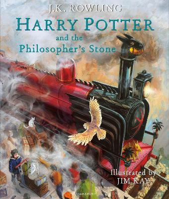 Harry Potter and the Philosopher's Stone- Illustrated Edition