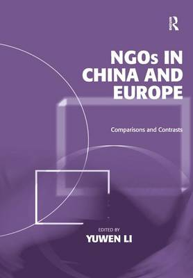 NGOs in China and Europe: Comparisons and Contrasts