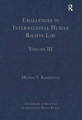 Challenges in International Human Rights Law: Volume III