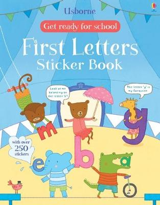 Get Ready for School First Letters Sticker Book