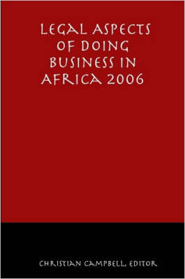 Legal Aspects of Doing Business in Africa