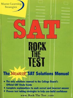 The New SAT Solutions Manual to the College Board's Official Study Guide