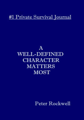 A Well-defined Character Matters Most