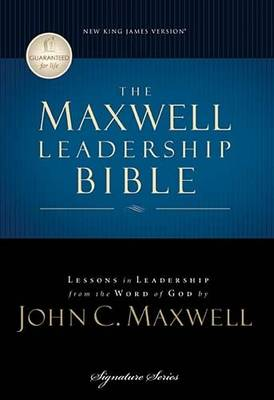 Maxwell Leadership Bible NKJV Briefcase Edition
