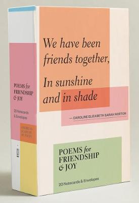 Poems for Friendship & Joy: 20 Notecards & Envelopes