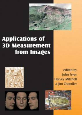 Applications of 3D Measurement from Images + DVD