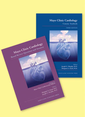 Mayo Clinic Cardiology Concise Textbook and Mayo Clinic Cardiology Board Review Questions & Answers: (TEXT AND Q&A SET)