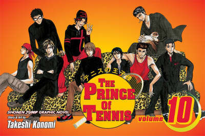 The Prince of Tennis, Vol. 10