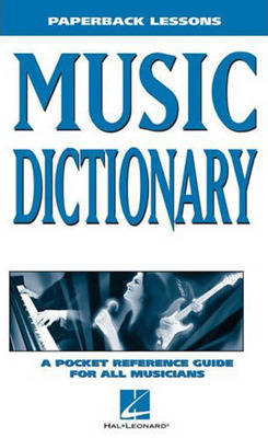 Paperback Lessons: Music Dictionary