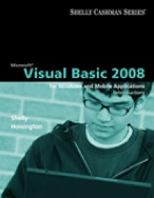 Microsoft (R) Visual Basic 2008: Introductory Concepts and Techniques