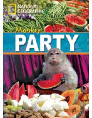 Monkey Party + Book with Multi-ROM: Footprint Reading Library 800
