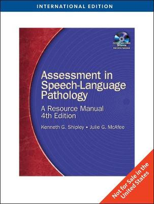 Assessment in Speech-Language Pathology, International Edition