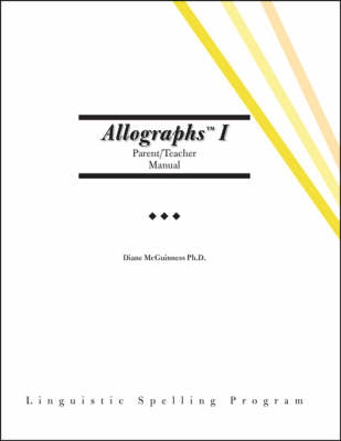 Allographs I: Parent/teacher Manual
