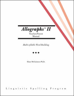 Allographs II: Parent / Teacher Manual