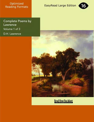 Complete Poems by Lawrence (2 Volume Set)