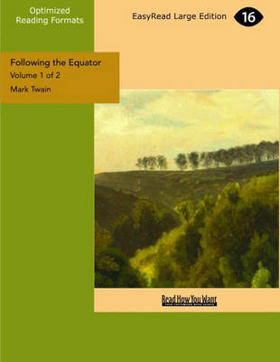 Following the Equator (2 Volume Set): A Journey Around the World