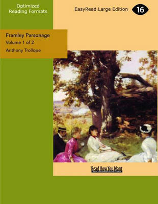 Framley Parsonage (2 Volume Set)