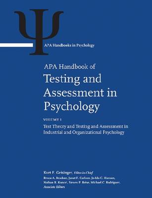 APA Handbook of Testing and Assessment in Psychology