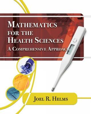 Mathematics for Health Sciences: A Comprehensive Approach