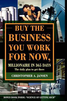 Buy the Business You Work for Now (Hardcover)