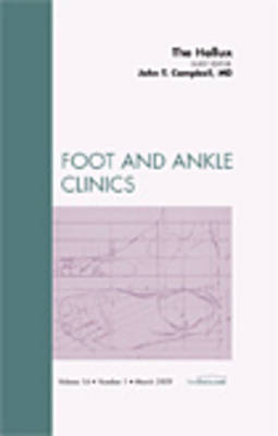The Hallux, An Issue of Foot and Ankle Clinics