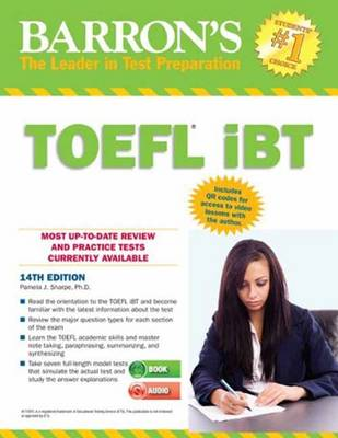 Barron's TOEFL iBT with CD Rom