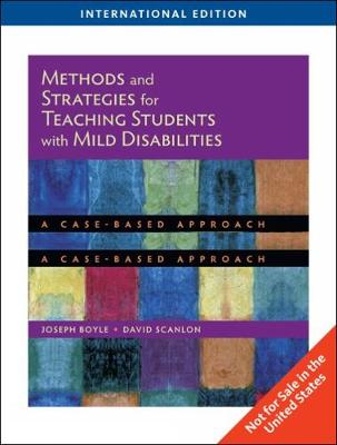 Methods and Strategies for Teaching Students with Mild Disabilities, International Edition