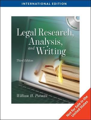 Legal Research, Analysis and Writing, International Edition