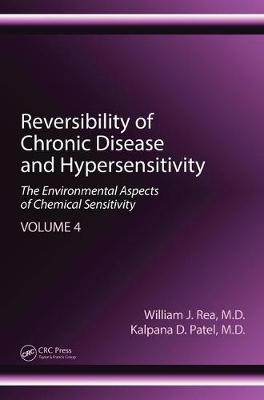 Reversibility of Chronic Disease and Hypersensitivity, Volume 4: The Environmental Aspects of Chemical Sensitivity